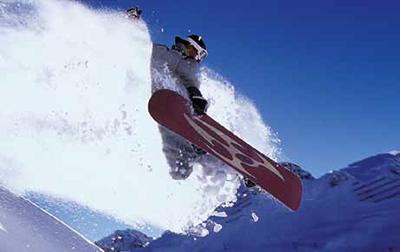 Motiv: Snowboarden