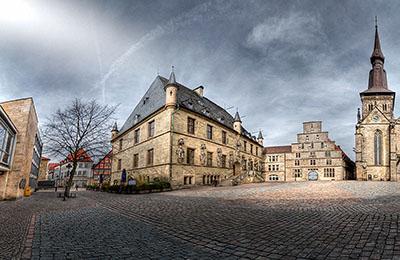 Motiv: Rathaus Osnabrück