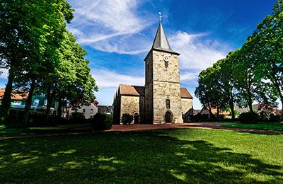 Motiv: Ehemalige Kirche in Hagen a.T.W.