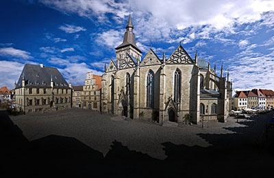 Motiv: Marienkirche in Osnabrück